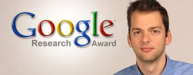 Dr. Hristidis receives prestigious Google Research Award