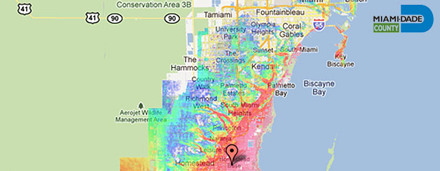 miami dade flood zone map Fiu Research Prepares Community For Hurricane Flooding Fiu miami dade flood zone map