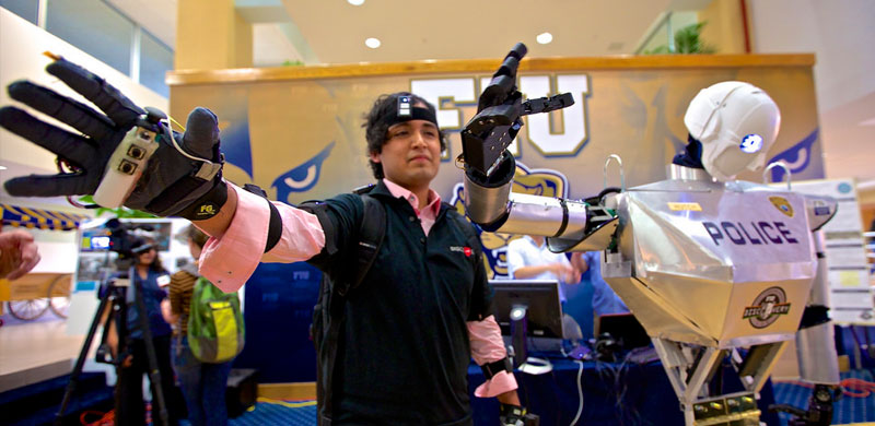 FIU students to test their own version of RoboCop