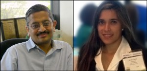 Shekhar Bhansali (left) and Kelly Mesa (right) are fighting the negative health effects of cortisol.