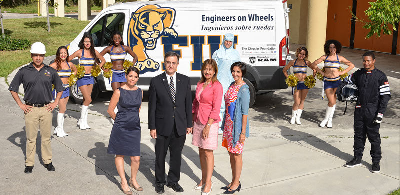 "College brings STEM education to South Florida Public Schools with ""Engineers on Wheels"""