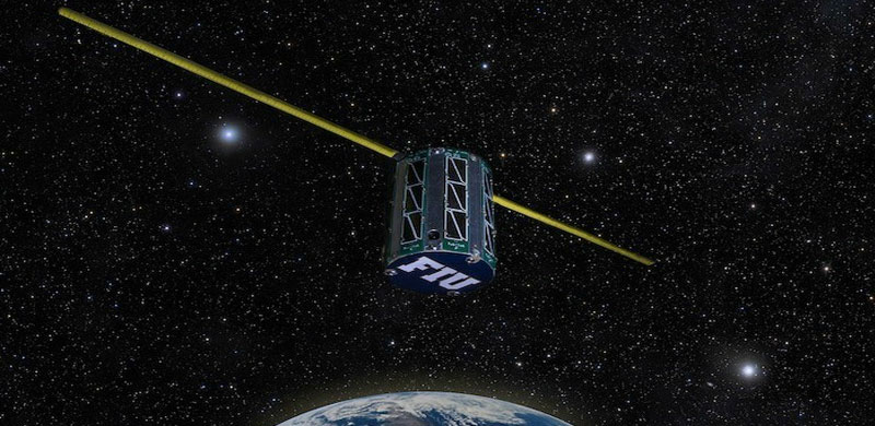 FIU in Space: Electrical engineering students build satellite in historic collaboration