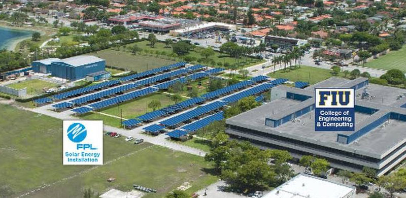 FPL and FIU join forces on innovative solar research facility