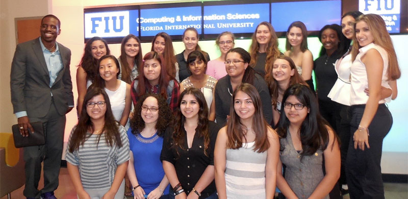 SCIS partners with Girls Who Code for summer program