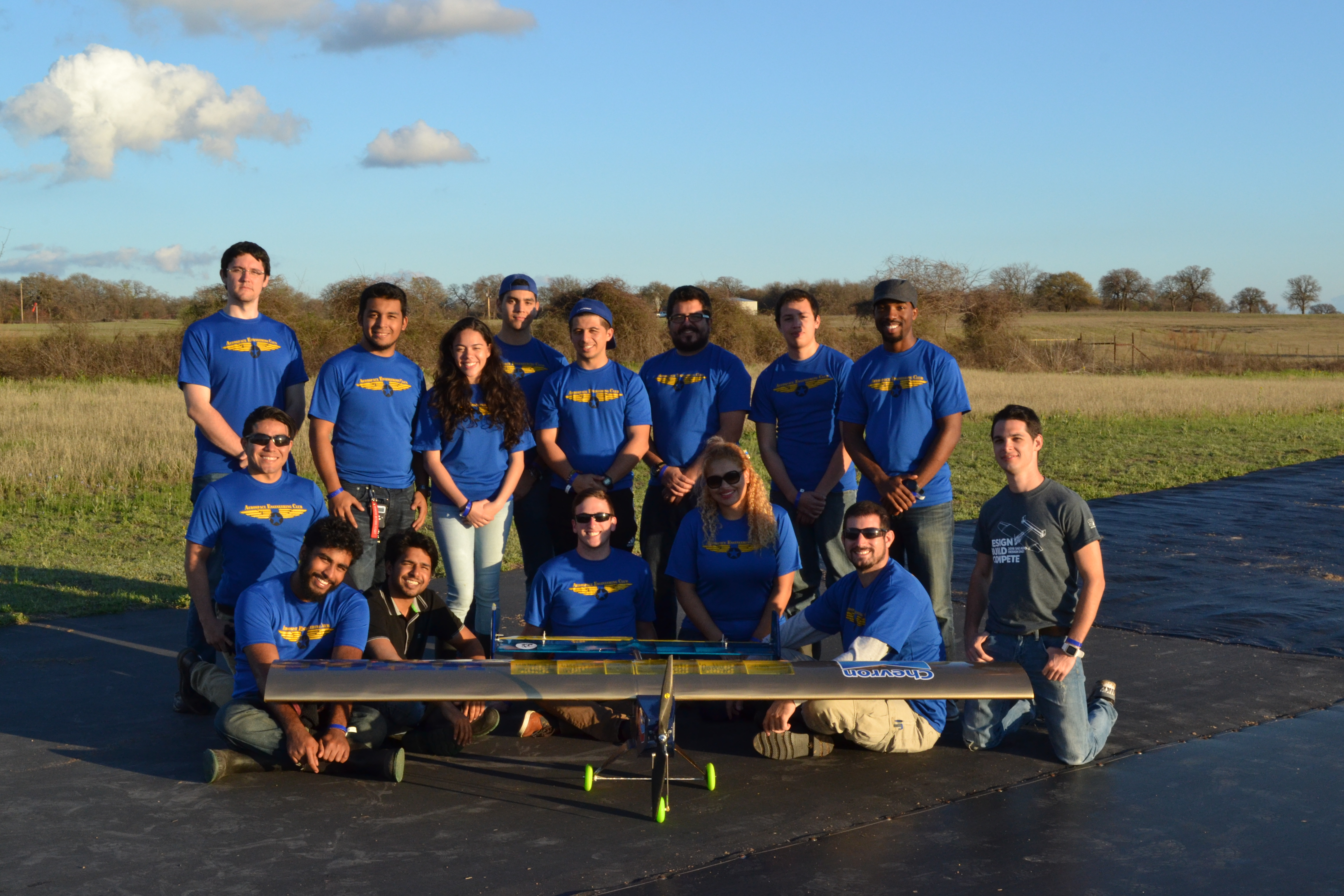 Students take third place at international aerospace competition