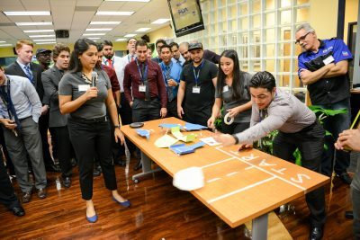 Fiat Chrysler Automobiles takes FIU students for a test drive