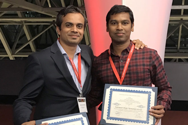 FIU electrical engineers win top honors for their papers