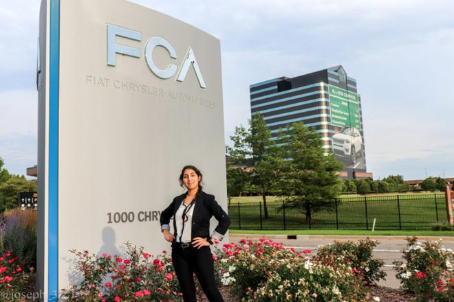 Amanda Cano's Internship at Fiat Chrysler