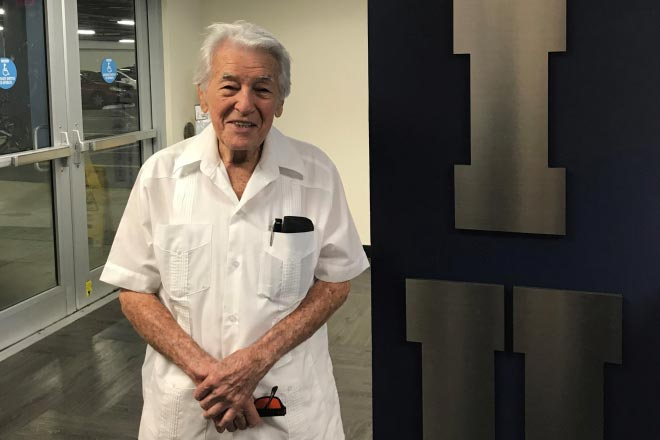 Jose Gracia – A 92-year old Engineering Instructor