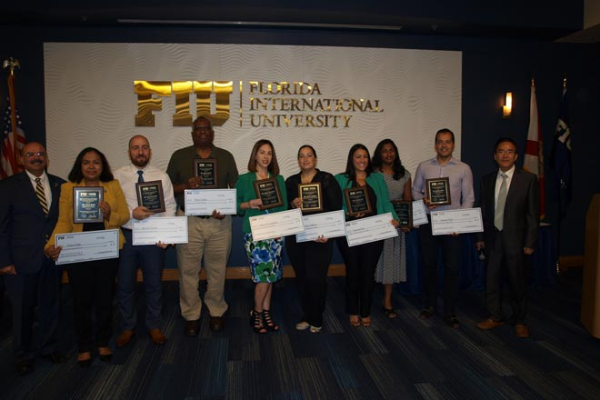 2018 Faculty & Staff Awards