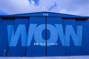 University uses 'wall of wind' to produce life-saving hurricane research