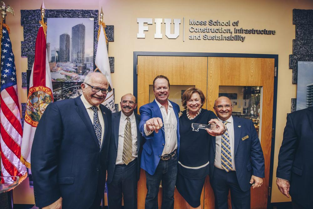 FIU School of Construction Officially Renamed