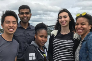 Giuliana Avogadro's internship at Microsoft