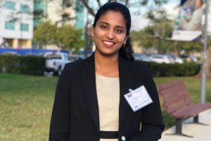 Sandhiya Govindarajulu receives Best Student Paper Award at the 2019 iWAT