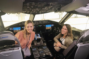 Jeanine Shraim's internship with Boeing.