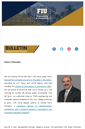 FIU September - October 2019 Bulletin