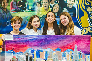 Middle school students tap into tomorrow's future cities