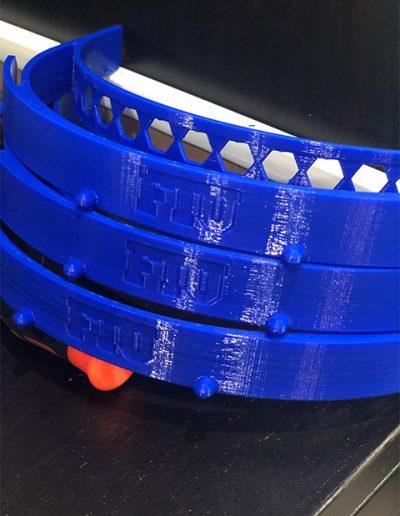 3D Printed Face Shield Band