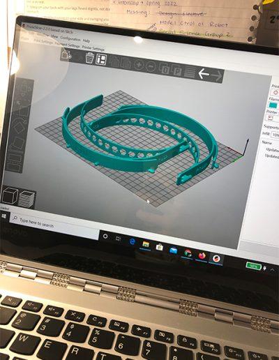 FIU 3D Printing of Face Mask Rendering