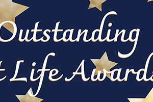 Congratulations to the Outstanding Student Life Award winners!