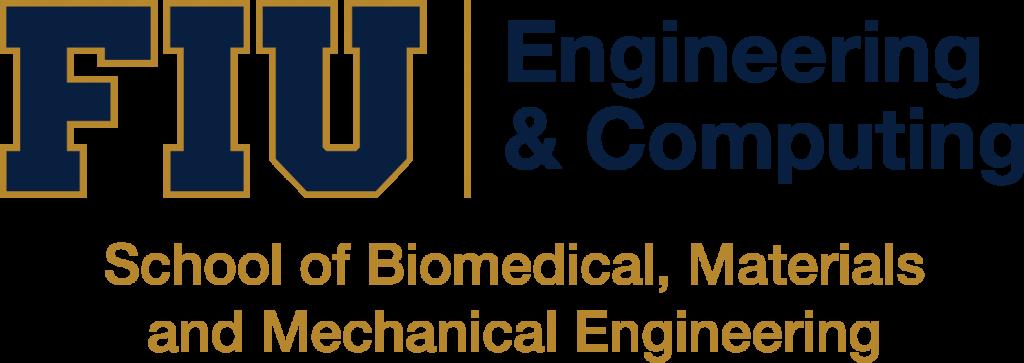 FIU School of Biomedical, Materials and Mechanical Engineering Logo