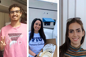 During the pandemic, Honors College students are making a difference from home