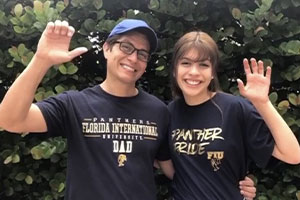 Alumnus, FIU parent discusses family's Panther legacy, why he gave to student emergency relief fund