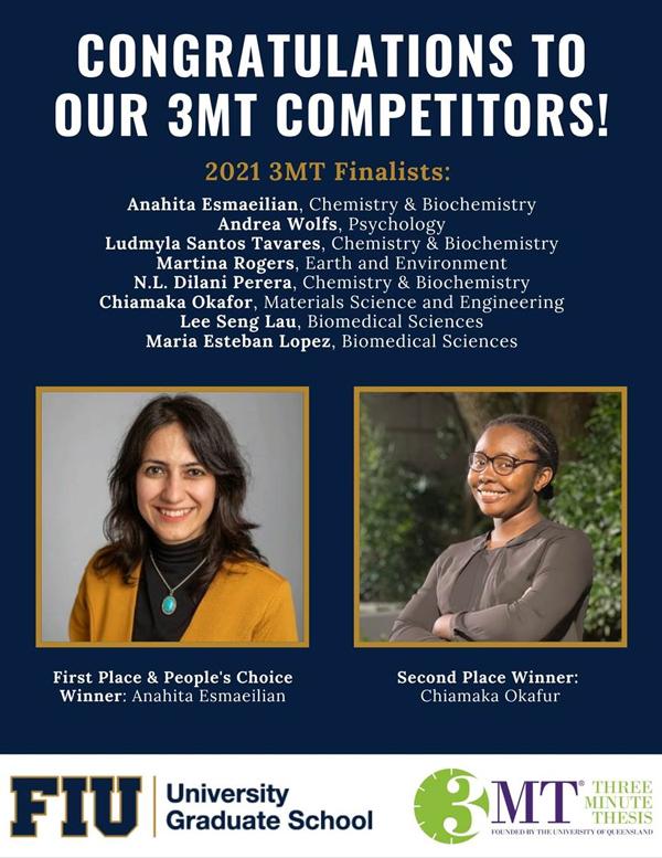 3MT Congratulations Flyer