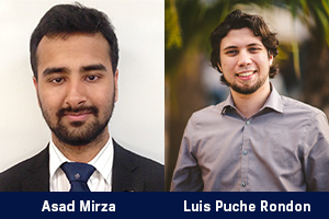 Two FIU Engineering Graduate Students Receive Koerner Family Foundation Supplemental Stipend Awards
