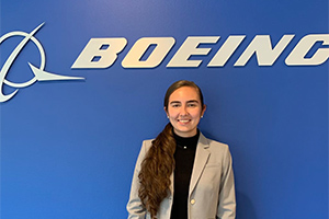 Got my first job! Working as an engineer at Boeing in the Research and Technology Division