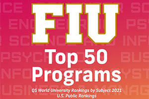 20 FIU programs ranked among world's best