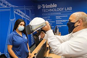 Trimble establishes FIU Moss School of Construction