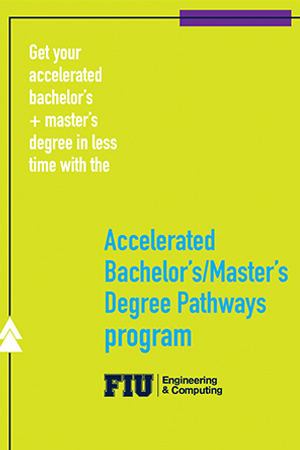 Accelerated BS/MS Degree Pathway 2021 Brochure