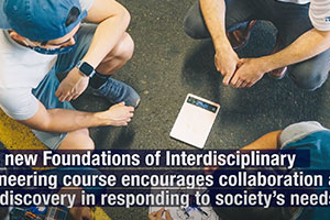 New Engineering course explores ethical, social responsibilities in solving real-world challenges