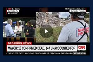 CNN Segment on Surfside Building Collapse: Part 1