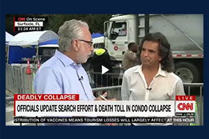 CNN Segment on Surfside Building Collapse: Part 2
