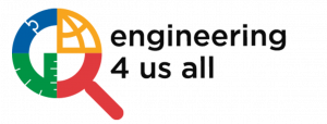 Engineering 4 Us All Logo- Colored
