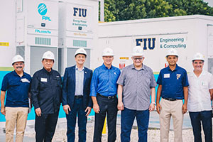 FIU, FPL unveil innovative microgrid and virtual control room at College of Engineering & Computing