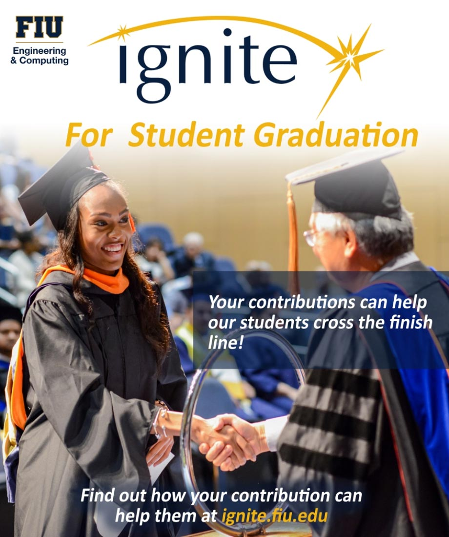 Ignite for Student Graduation poster