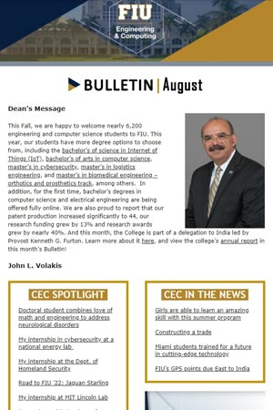 fiu-college-engineering-computing-bulletin-august-2018