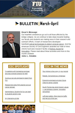 fiu-college-engineering-computing-bulletin-march-april-2018