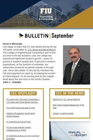 fiu-college-engineering-computing-bulletin-september-2018